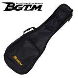 ★集樂城樂器★BGTM UK-01 超高質感23吋烏克麗麗琴套(雙背/厚棉)-黑色
