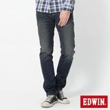 EDWIN 503 B.T不對稱後袋AB牛仔褲-男-拔淺藍