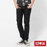 EDWIN 503 B.T不對稱後袋AB牛仔褲-男-黑色