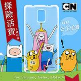 CN卡通頻道授權正版 Samsung Galaxy Note4 探險活寶透明軟式手機殼(公主活寶)