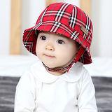 韓版-英倫情人風情兒童漁夫帽