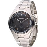 SEIKO Kinetic 鈦 爭鋒時刻人動電能腕錶 5M82-0AT0G SKA713P1