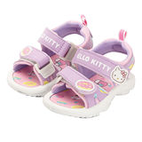 【MODAbobo】Hello Kitty 小中童段 甜美馬卡龍涼鞋-紫 T5S2-815722