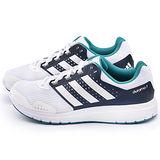 Adidas 男款 Duramo 7 輕量慢跑鞋AF6665-白藍
