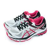 【女】ASICS 亞瑟士 專業慢跑鞋 GT-1000 4 白桃黑 T5A7N-0121