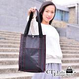 【CT Lafie】手提袋 都會紐約客-男女適用款