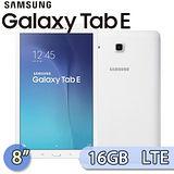 Samsung 三星 GALAXY Tab E 8.0 16GB LTE版 (T3777) 8吋 四核心通話娛樂平板電腦(白)【送螢幕保護貼】