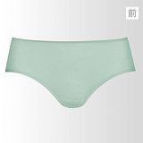 【蕾黛絲】挺素面V版型 M-EL平口褲(青蘋綠)