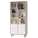 【顛覆設計】卡瑪2.8尺半開放式書櫃