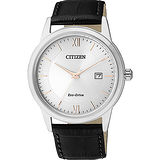 CITIZEN Eco-Drive光動能城市腕錶-銀/40mm AW1236-11A