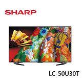 贈送HDMI線2M SHARP夏普 50吋 AQUOS超薄4K液晶電視 LC-50U30T