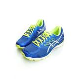 Asics 男鞋 慢跑鞋-藍銀-T607N4393