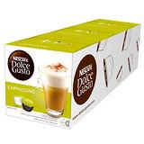 雀巢咖啡-卡布奇諾咖啡膠囊(一組3盒)