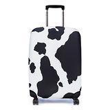 Bibelib 法國設計品牌 彈性行李箱套-瑞士乳牛(適用26-31吋行李箱)