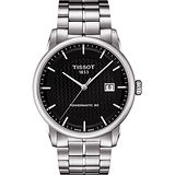 TISSOT LUXURY 動力儲存80機械腕錶-黑x銀/41mm T0864071120102