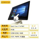 ASUS Z240ICGT-670GF004X i7-6700T/8G/1T+128G/GTX960M-2G 觸控Win10液晶電腦