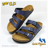 【G.P 休閒個性柏肯鞋】M361-20 藍色 (SIZE:40-44 共二色)