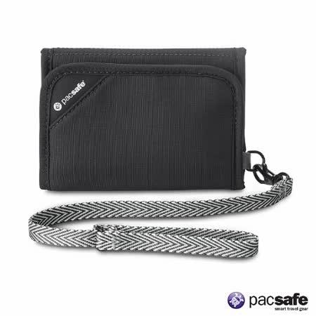 Pacsafe RFID V125錢夾(黑色) -friDay購物 x GoHappy