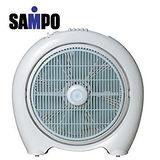 【聲寶 sampo】 一級福利品 14吋定時箱扇 SK-LC14B