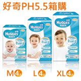 【金好奇】pH5.5 護膚乾爽紙尿褲(M/L/XL任選兩箱)