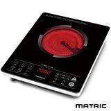 日本松木MATRIC 薄型智慧觸控不挑鍋電陶爐 MG-HH1201(公司貨)