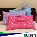 KIKY-繽紛點點3M吸濕排止鼾枕頭-可水洗(1入)