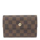 Louis Vuitton LV N63067 Alexandra 棋盤格紋扣式零錢中夾 預購