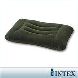 【INTEX】多用途《人體工學》植絨充氣枕/護腰枕 (68670)