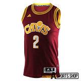 ADIDAS (男) 愛迪達 INT SWINGMAN #2 CAVALIERS 籃球衣 紅-AL6773