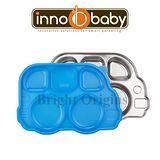 Innobaby 不銹鋼兒童餐具 巴士餐盤 Din Din SMART™(藍色)