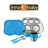 Innobaby 豪華Super巴士餐具組 藍色