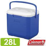 【美國 Coleman】EXCURSION 海洋藍冰箱 28L.高效能行動冰箱.保冷保冰箱.冰筒.冰桶.置物箱.保鮮桶/CM-27861