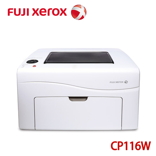 Fujixerox DocuPrint CP116 W 彩色無線S-LED 印表機 (白)
