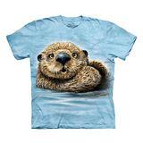 【摩達客】(預購) 美國進口The Mountain 水瀨 純棉環保短袖T恤