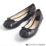 BUTTERFLY TWISTS - GRACE可折疊扭轉芭蕾舞鞋-經典黑