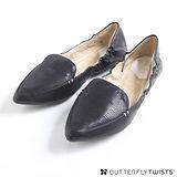 BUTTERFLY TWISTS - LUCY可折疊扭轉芭蕾舞鞋-經典黑