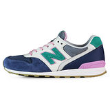 New Balance 女 WR996 TIER 2 紐巴倫 復古鞋 藍/粉/綠 - WR996HL
