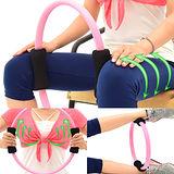 有氧美型彈力韻律圈C109-5803健身圈美腿夾瑜珈圈美體圈.貝殼機剪肥圈瑜珈環健美環.普拉提圈美腿機.運動器材