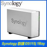 Synology群暉 DiskStation DS115j 1Bay 網路儲存伺服器