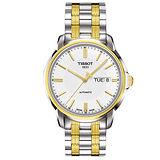 TISSOT 天梭 Automatic III 時尚機械腕錶(40mm/T0654302203100)