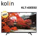 KOLIN歌林 43吋LED顯示器+視訊盒KLT-43EE02 含運送