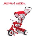 美國【RadioFlyer】紅瓢蟲四合一三輪推車#488A型