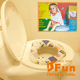 【iSFun】兒童專用*軟質學習馬桶墊