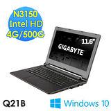GIGABYTE技嘉 Q21B 11.6吋 N3150 WIN10筆電