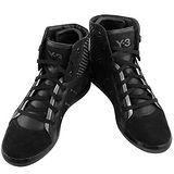 Y-3山本耀司 黑色三線造型中筒造型靴【女款US 8.5號】