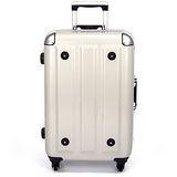 MOM 日本品牌 - 26吋-第二代旗艦正式版 PC鋁框行李箱(RU-3008-26-白)