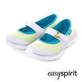 Easy Spirit--輕量彈性條帶舒適走路鞋--百搭白