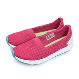 【女】PONY 極簡時尚休閒鞋 FREE 科技記憶鞋墊系列 桃紅綠 62W1FR63PK
