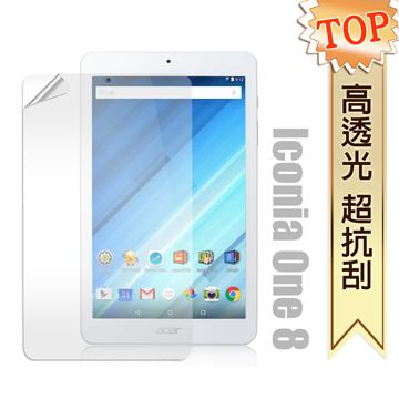 宏碁 Acer Iconia One 8 B1-850 8吋 高透光亮面耐磨保護貼 保護膜