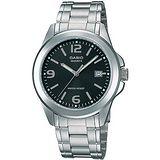 CASIO 品味城市優雅紳士錶- 黑(MTP-1215A-1A)